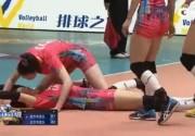 惠若琪欲给张常宁人工呼吸 扣球得分后挑衅对手