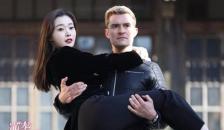奥兰多首演华语电视剧 片场公主抱女主宋轶