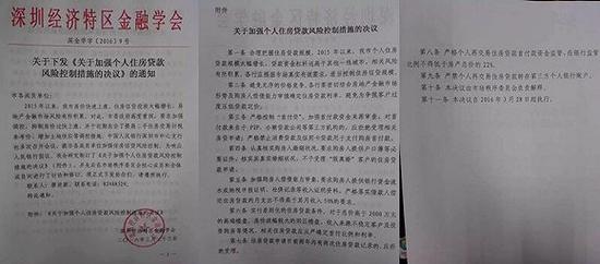 深圳经济特区金融学会发布的《关于加强个人住房贷款风险控制措施的决议》。