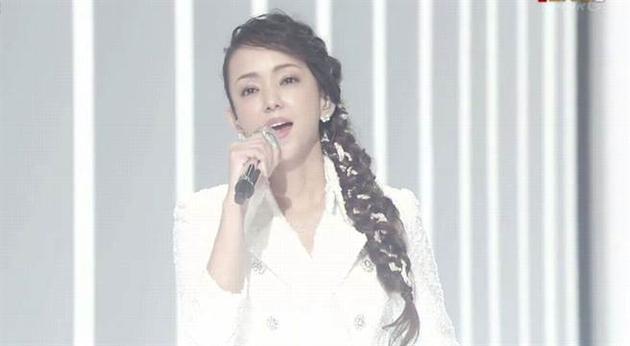 安室奈美惠特别出演红白