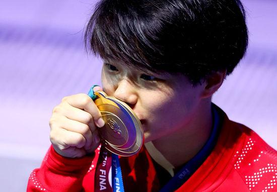 世界跳水系列赛北京站火热开战 施廷懋:回家真好
