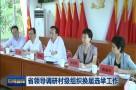 省领导调研村级组织换届选举工作