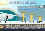 台媒:开放陆客观光十年 蔡当局上台陆客大幅减少