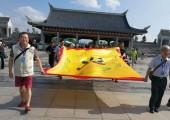 台湾资深媒体人客家祖地祭祖
