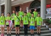 台中市清水小学、鹿峰小学学生们欢歌
