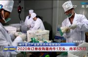闽宁签订产业扶贫合作框架协议 2020年订单收购屠肉牛1万头、肉羊5万只