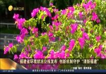 福建省环境状况公报发布