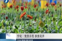 宁化:党员示范 扶贫花开