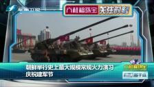 20170426 朝鲜建军节举行大规模火力演习