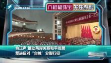 20180304 俞正声:推动两岸关系和平发展