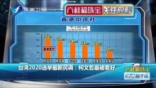 20180823 台湾2020选举最新民调:柯文哲最被看好