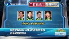 20181204 民进党规划2019年1月改选党主席 派系动向成焦点