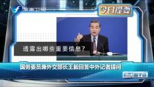 20190308 國務委員兼外交部長王毅回答中外記者提問