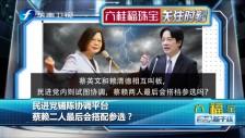 20190321 民进党铺陈协调平台 蔡赖二人最后会搭配参选?