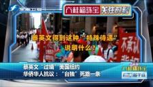 """20190713 蔡英文""""过境""""美国纽约 华侨华人抗议"""