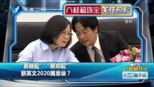 """20190718 """"蔡賴配""""""""蔡鄭配"""" 蔡英文2020屬意誰?"""