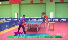 全运群体项目乒乓球选拔赛举行 全省123人争夺门票