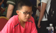 全运会围棋总决赛 福建少年骆焯凡获第四名