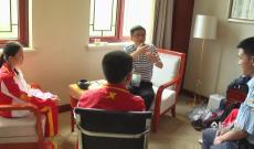 福建省体育局领导慰问福建棋牌运动员