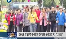 """《律师在现场》2018年春节中国消费市场呈现红火""""井喷"""""""