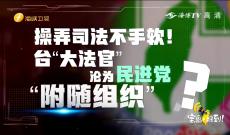 """《宝岛,报到!》台""""大法官""""沦为民进党""""附随组织""""?"""