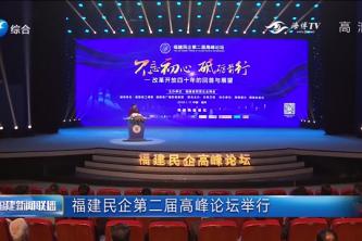 福建民企第二届高峰论坛举行
