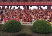 福建湄洲島舉行媽祖祭典
