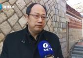 天津海河傳媒中心副總裁印永清接受采訪