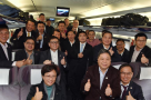 港区全国人大代表和政协委员首次集体乘高铁抵京参会
