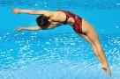 跳水比赛序幕拉开 400选手上演空中芭蕾
