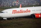 一架客机在尼泊尔加德满都国际机场冲出跑道