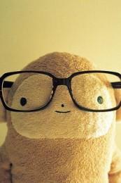 眼镜也是很重要的装饰品