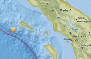 印尼苏门答腊岛西部海域5级地震