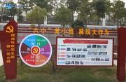 永春县儒林社区党支部第一党小组接地气宣传十九大