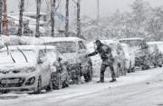 美国东北部春分遇暴雪 近四千航班取消