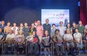 福建广播六代播音艺术家齐聚一堂 上演精彩朗诵会