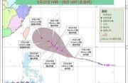 """超强台风预备!""""潭美""""路径西调,或将穿过台湾登陆东南沿海! 你的国庆假期将……"""