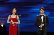 """第12届中国金鹰节:迪丽热巴李易峰""""最具人气"""""""