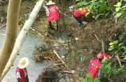 长乐5人溪塘边躲雨时落水 3人死亡2人仍失联
