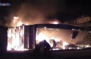 上海一农药厂火灾致3名消防员中暑 现已无碍