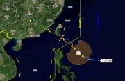 """台风""""白鹿""""将于24日夜间到25日上午在闽粤沿海登陆"""