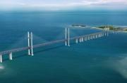 探访中国首座跨海公铁两用桥 平潭大桥飞架风暴海域