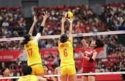 五连胜!中国女排3-0完胜东道主日本队