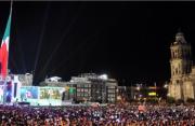 墨西哥举行独立日庆祝活动