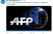 智利总统在暴力抗议后宣布进入紧急状态