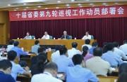 十届省委第九轮第一批巡视10月上旬开始,对这20个地方、单位党组织开展巡视