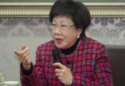 蔡英文称绿营选台北市长没戏