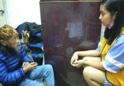 台湾女中学生帮独居老人扫屋陪聊:当1天孙女