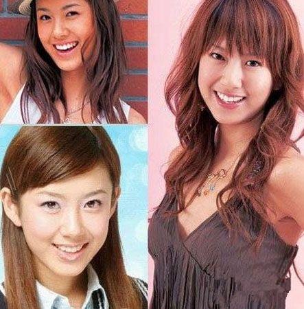 张子萱旧照脸型宽宽,双眼要小一点,曾有网友指出她有开眼角,鼻子和图片