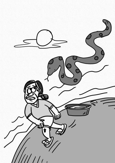 医生漫画手绘头像